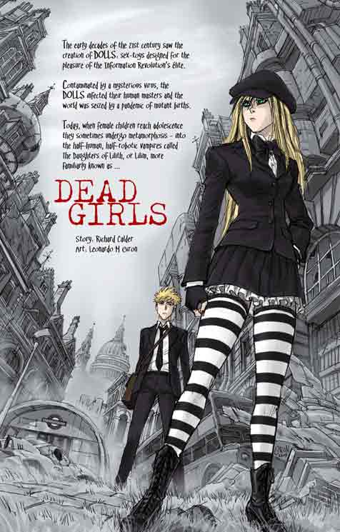 dead Girls title page